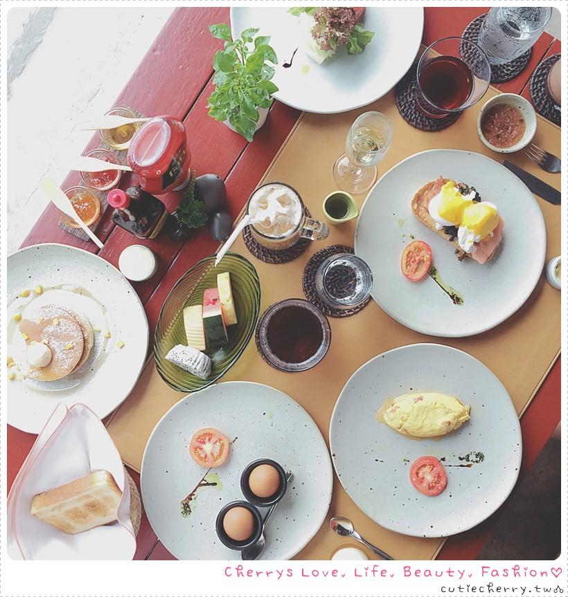 華欣.住宿|不吃會後悔,無限量供應的超豐盛早餐♥ Let's Sea【早餐篇】同場加映完整版 Menu