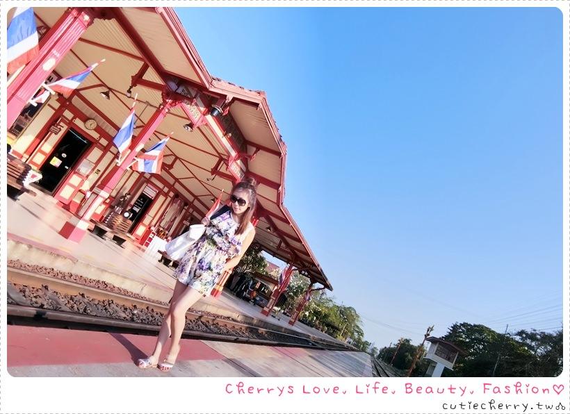華欣.景點|華欣火車站 × Market Village,訪完百年懷舊火車站就來逛華欣最大的百貨商場♥