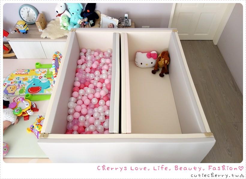 育兒.親子 輕鬆打造寶寶兒童遊戲球池♥蕊蕊的 IG 色調超夢幻粉紅球池來囉!(內藏超輕鬆海洋球清潔方式)