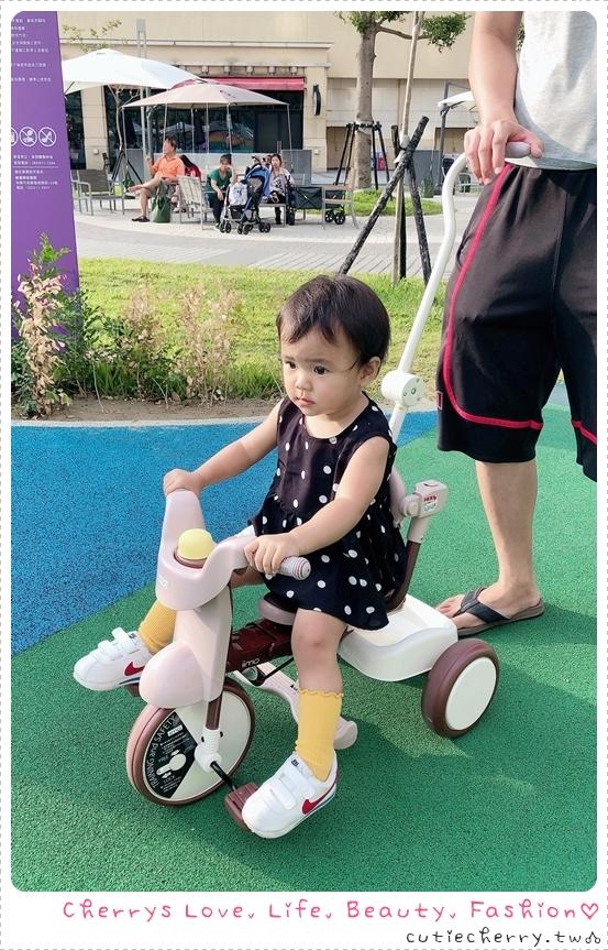 親子|日本 iimo 第二代折疊三輪車 #02 TRICYCLE(遮陽防曬升級款)× 幼兒平衡滑步車,極致美型設計讓媽麻也融化♥