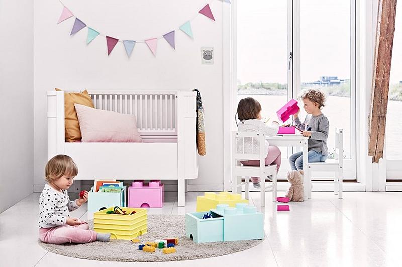 收納|丹麥樂高 LEGO® Room Copenhagen 抽屜收納盒,真的可以玩又兼具收納功能的巨型樂高♥