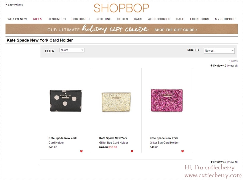 32 Kate Spade New York Card Holder   SHOPBOP