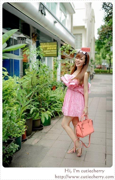 穿搭★Dress up,夏天就是洋裝和長裙季節♥正韓.Angel's Ballet(下)