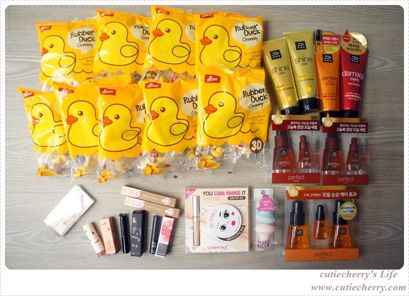 韓國.Korea|韓國戰利品小分享♥在首爾也要跟妳們線上直播