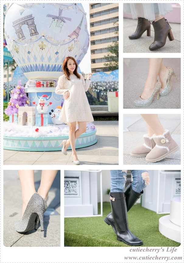美鞋|我的鞋櫃塞滿了 D+AF ♥翠蕊的秋冬必備鞋靴分享♪