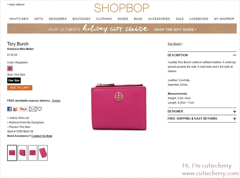 19 Tory Burch Robinson Mini Wallet   SHOPBOP