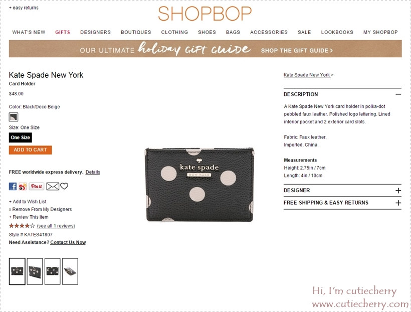 30 Kate Spade New York Card Holder   SHOPBOP