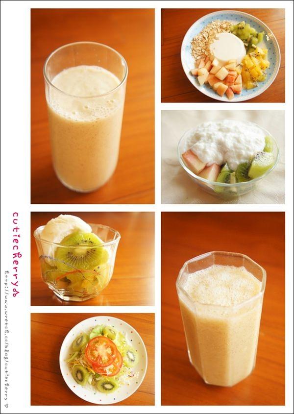 輕食★一天一顆奇異果,輕鬆鏟除肥肚肚♥翠蕊的Zespri輕食menu