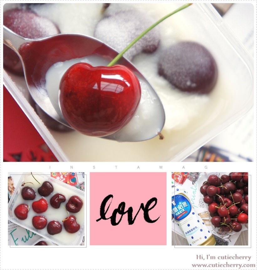 手作★酸酸甜甜的熱戀滋味♥七夕情人節的手作可爾必思 × 櫻桃