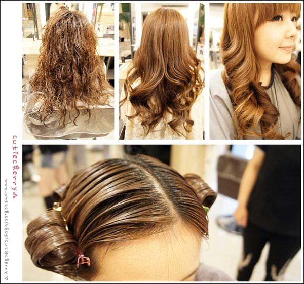 護髮★自然捲也能滑順不已♥HAPPY HAIR時光奇蹟護髮